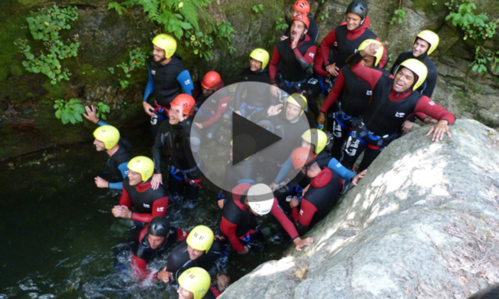 Stage de Canyoning